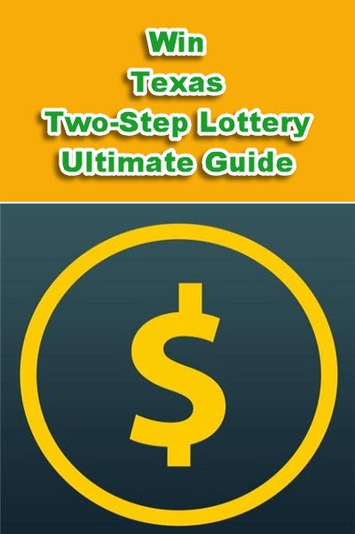 Texas (TX) Two Step Lottery Strategies and Software